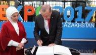 Cumhurbaşkanı Erdoğan EXPO 2017 Fuar Alanı'nı ziyaret etti