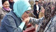 Emine Erdoğan'ın Etnik köyü ziyareti
