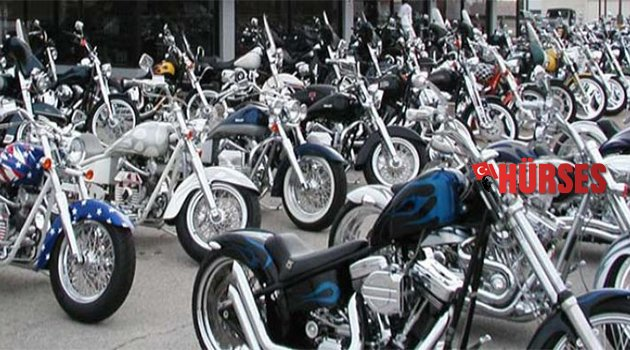 En çok motosiklet  İstanbul'dan sonra Antalya'da