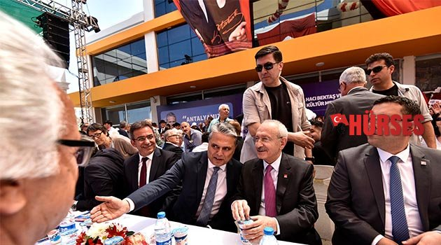 Kılıçdaroğlu Uysal'ı kutladı