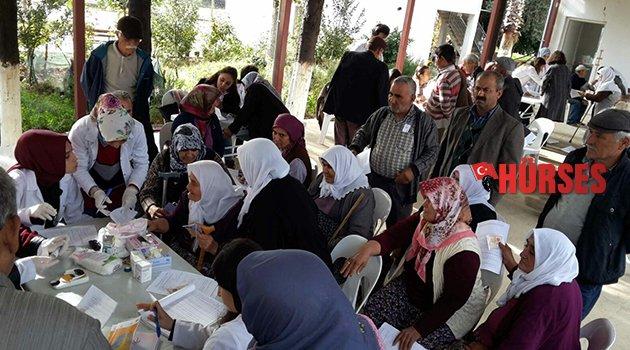 Köy köy sağlık taraması