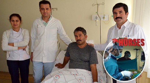 Alanya'da ilk kez 'Kapalı Böbrek Taşı' ameliyatı