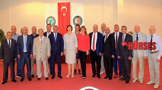Antalya'da buluştular