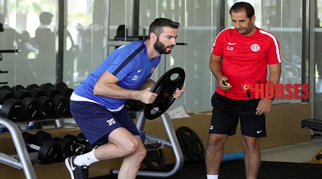 Antalyaspor'da kuvvet çalışması