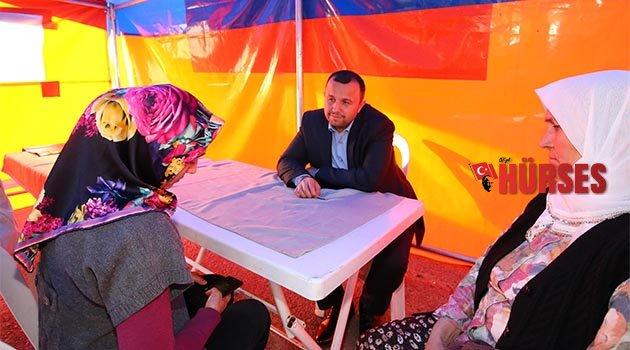 Başkan Taş, Gönül Çadırı'nda
