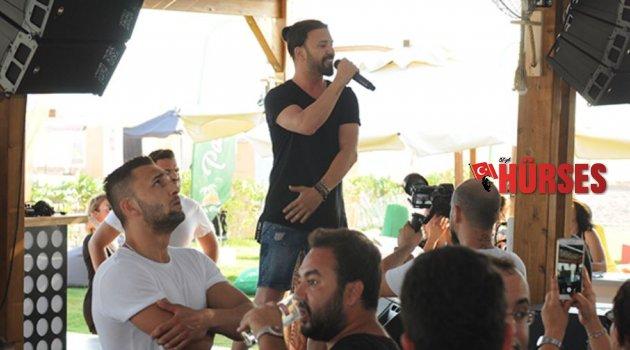 Berksan, Antalyalıları serinletti