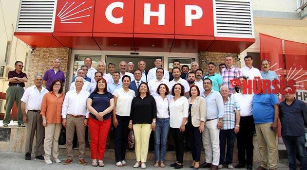 CHP'de ilk toplantı yapıldı