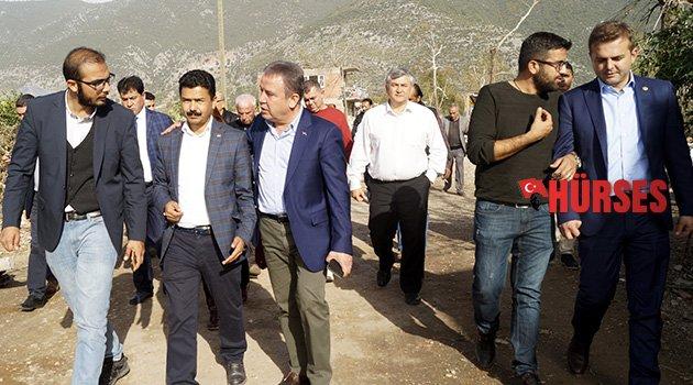 CHP heyeti afet bölgesinde
