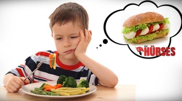 Çocuklarda beslenmeye dikkat