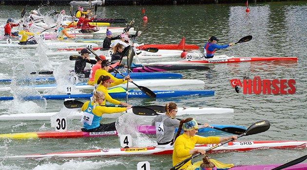 Gloria Canoeing Cup 5000 Metre Durgunsu Turnuvası yapıldı