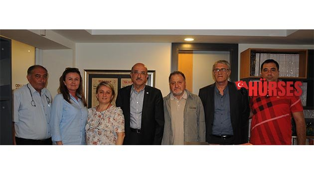İYİ Parti'den Hürses'e ziyaret
