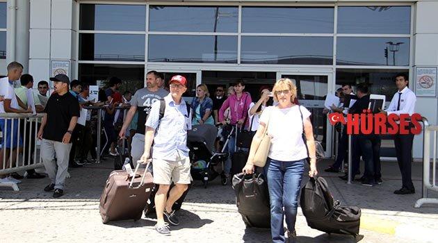 Turist sayısında rekor yaşanıyor