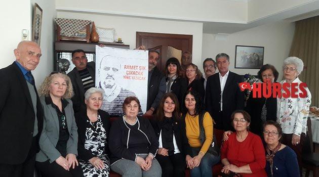 Şık'ın annesine CHP ziyareti