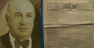 100 yıl öncesinin  gazetesi bulundu