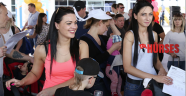 Antalya'ya 13 milyon  642 bin turist geldi