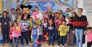 Çocuk hastalara 23 Nisan kutlaması