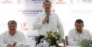 Ak Parti il başkanı Taş, iddialı konuştu