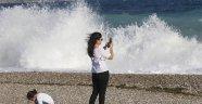 Dev dalgalarda deniz keyfi