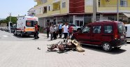 Gazipaşa'da kazada: 1 kişi yaralı