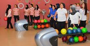 Kadınlar Bowling Turnuvası'nda yarıştı