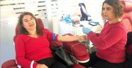 Lösemili çocuklar için kan verdiler