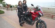 Motosiklet sevgisiyle kanseri yendi