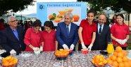 Öğrencilerden portakallı mesaj