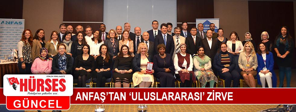 ANFAŞ'tan 'uluslararası' zirve