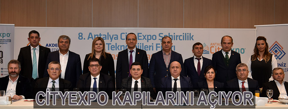 CityExpo kapılarını açıyor