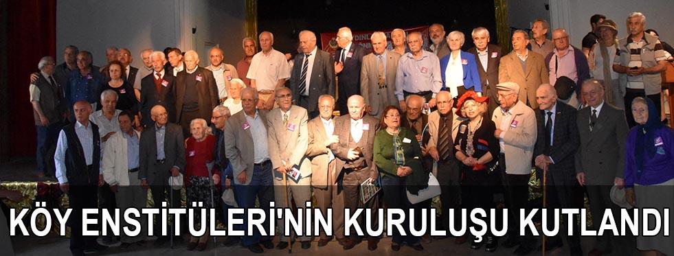 Köy Enstitüleri'nin kuruluşu kutlandı