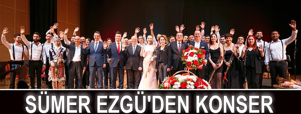 Sümer Ezgü'den konser