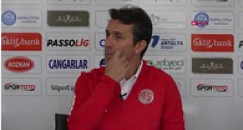 """Bülent Korkmaz: """"Kazanarak Antalya'ya döneceğiz"""""""