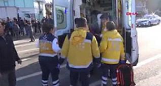 Gazipaşa'da zincirleme kaza 3 yaralı