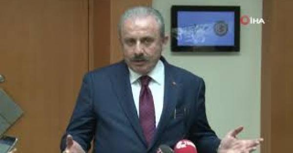 """TBMM Başkanı Şentop: (Toplantıdaki gerginlik) """"Bana göre parlamenter bir arkadaşımızın şovu vardı sadece"""""""