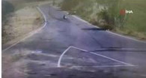 Kaza sonrası ne yapacağını şaşıran sürücü serbest bırakıldı