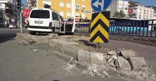 Hafif ticari araçlar çarpıştı: 4 yaralı
