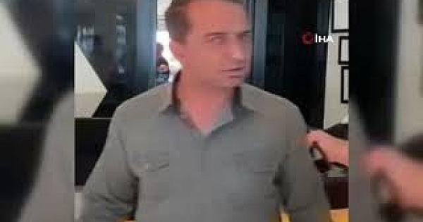 Çocukların fotoğraf ve videosunu çektiği iddia edilen 2 kişiye tekmeli tepki