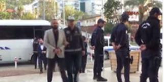 Alanya'da organize suç örgütü operasyonuna 14 tutuklama