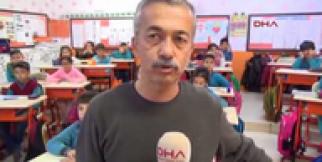Öğretmen, sınıfı amfi tiyatro gibi dizayn etti