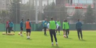 Aytemiz Alanyaspor'da Demir Grup Sivasspor maçı hazırlıkları başladı
