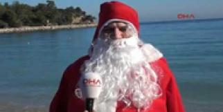 Kemer'e 'Noel Baba'lı yeni yıl tanıtımı