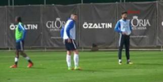 Trabzonspor, Antalya kampındaki hazırlıklarına devam etti