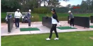 Güney Koreli golfçüler Serik'te kampa girdi