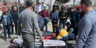Motosiklet kazasında Azra öldü, babası yaralandı
