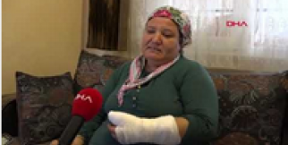 Korna sesini duymayan işitme engelli kadını dövüp, kolunu kırdılar
