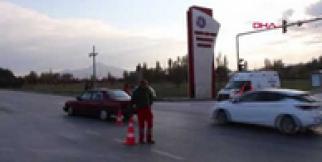 Burdur'da kaza 3 yaralı